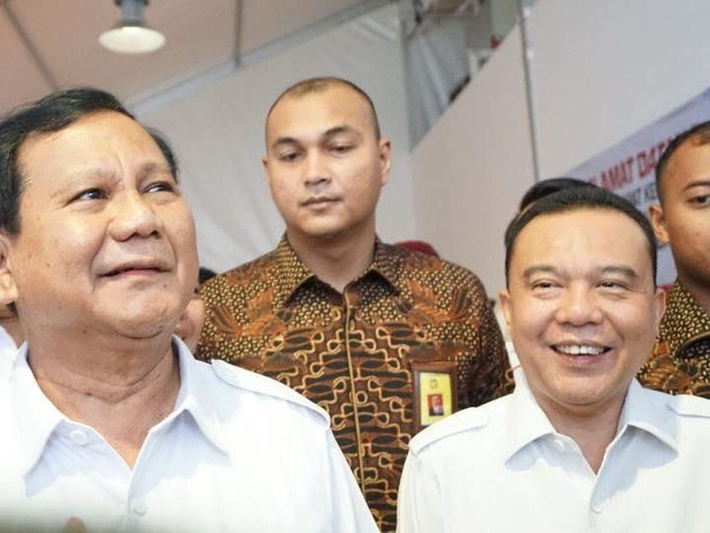 Prabowo Insyaallah Capres 2024, Gerindra: Terlalu Dini Bicara Koalisi