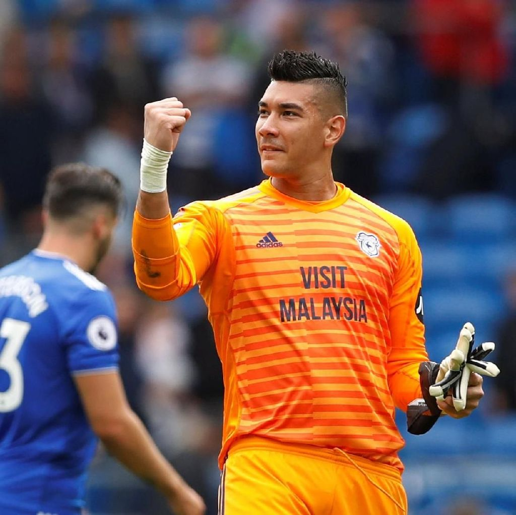 Kiper Filipina Neil Etheridge: 2 Laga Premier League, 2 Kali Gagalkan Penalti