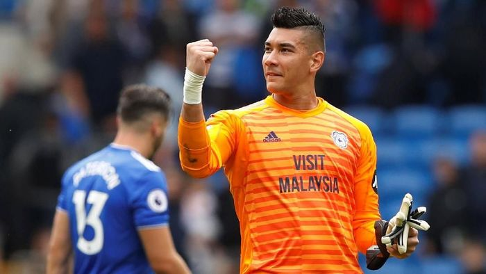 Neil Etheridge telah gabung dengan Timnas Filipina. (Foto: Carl Recine/Action Images via Reuters)