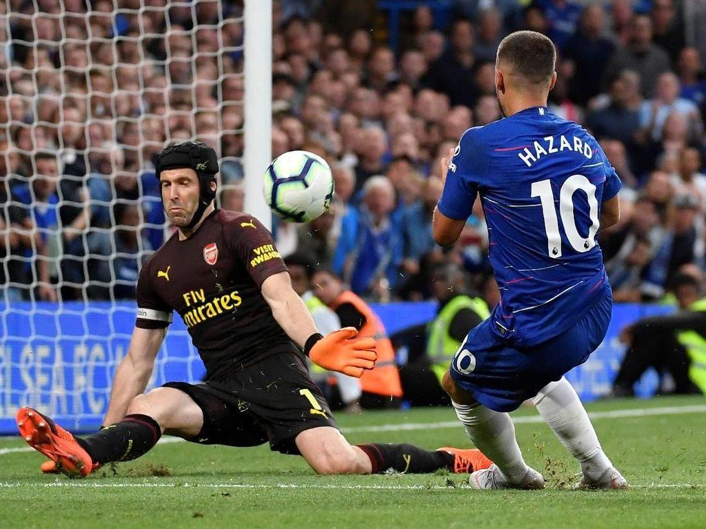 Sokratis: Ancaman Arsenal Bukan Cuma Hazard