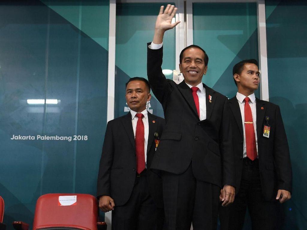 Lepas Pasukan Perdamaian, Jokowi Ungkap Prestasi RI di Asian Games