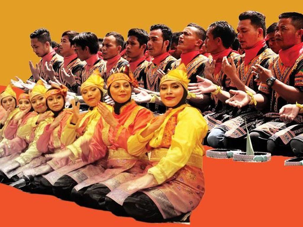 Bukan Tari Saman, Ini Tarian Aceh di Pembukaan Asian Games