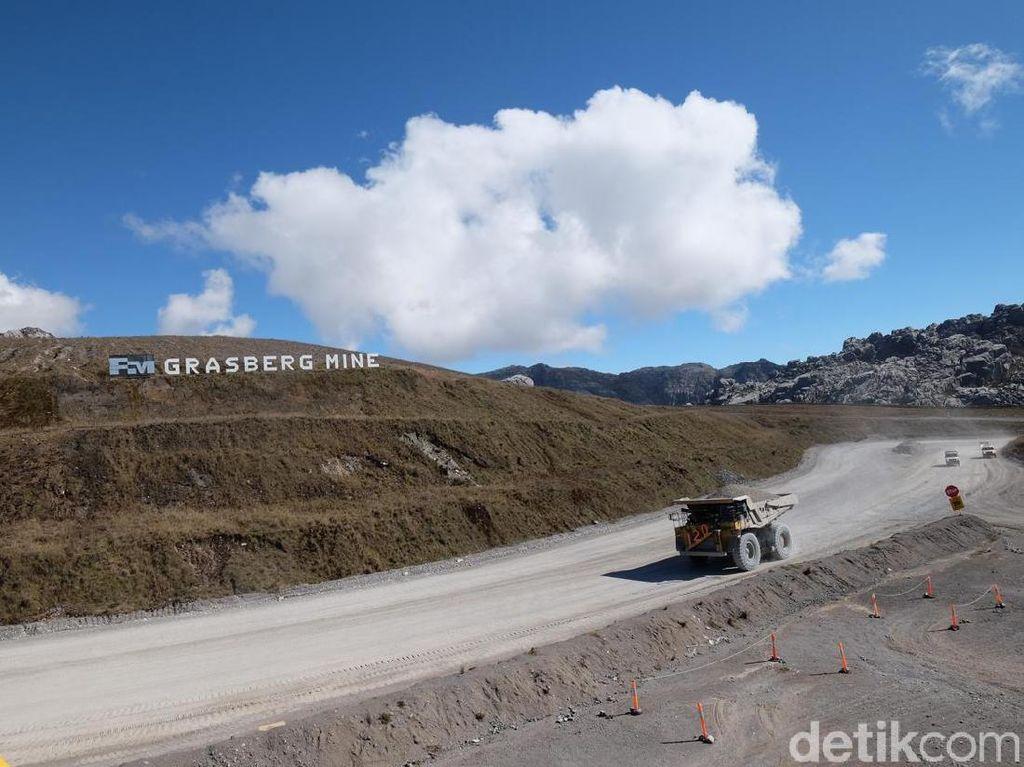 Gunung Tembaga-Emas Grasberg di Penghujung Umur