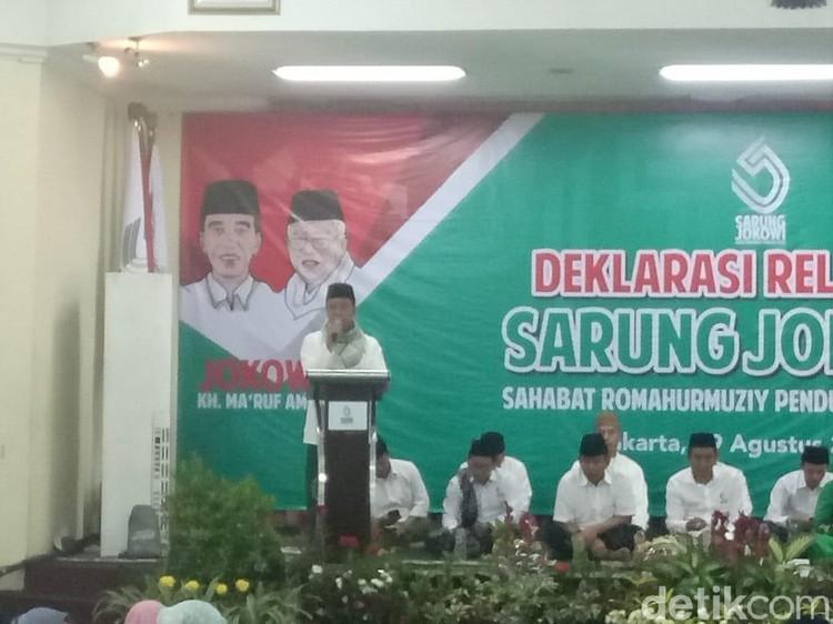 Deklarasi Sarung Jokowi, Rommy: 4 Tahun Harus Dilanjutkan