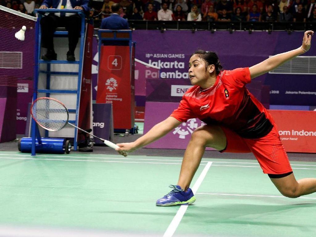Gregoria dan Fitriani Lolos Babak 16 Besar Bulutangkis Asian Games