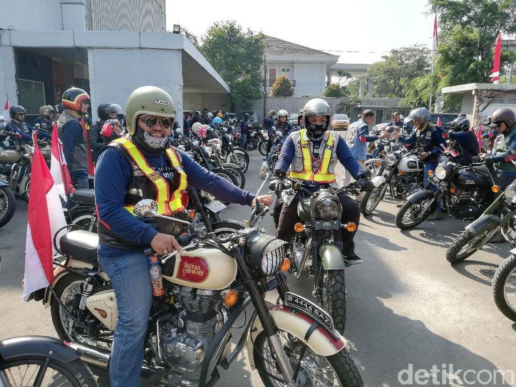 Royal Riders Indonesia Beri Dukungan Kepada Atlet Asian Games 2018