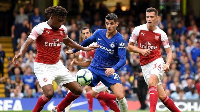 Arsenal kalah 2-3 dari Chelsea. (Foto: Mike Hewitt/Getty Images)