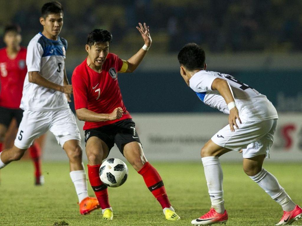 Son: Korsel Siap Lahir Batin Hadapi Final Asian Games