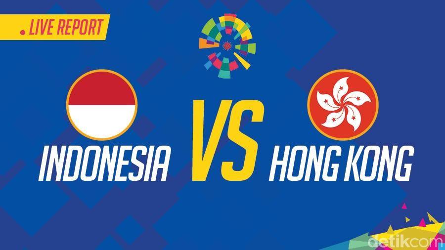 Live Report Asian Games 2018: Indonesia vs Hong Kong