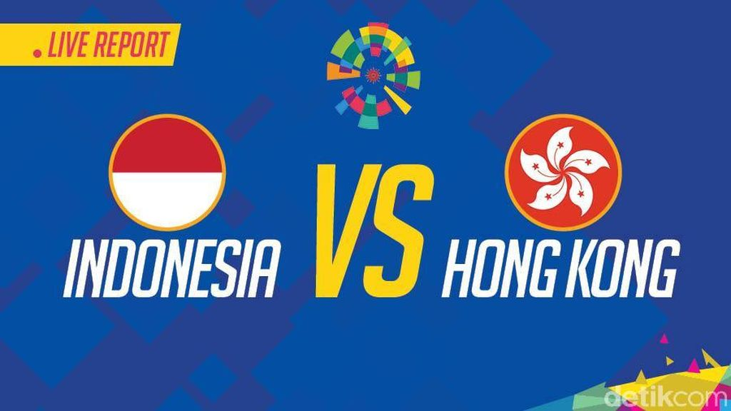 Live Report Asian Games 2018: Indonesia vs Hong Kong