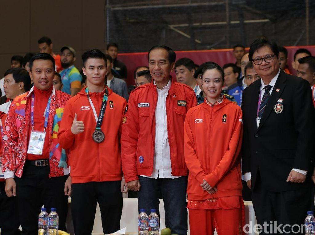 Pesan Jokowi Ke Atlet Indonesia: Semangat, Semangat, Semangat!
