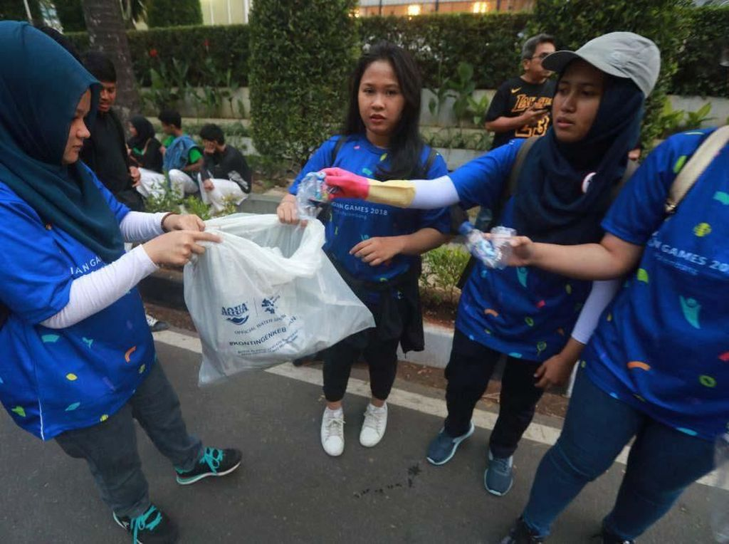 4.000 Relawan Jaga Kebersihan Venue Asian Games
