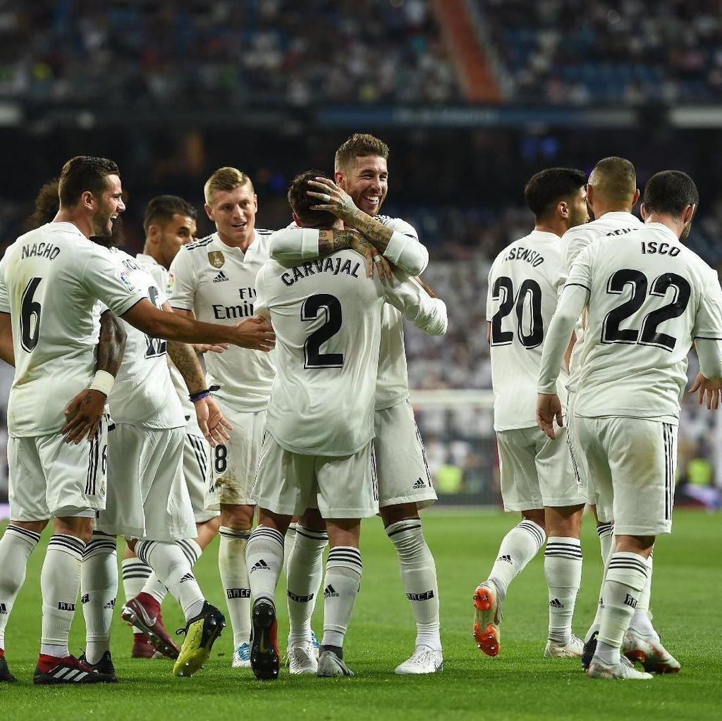 Hasil Liga Spanyol: Madrid Awali Musim dengan Bungkam Getafe