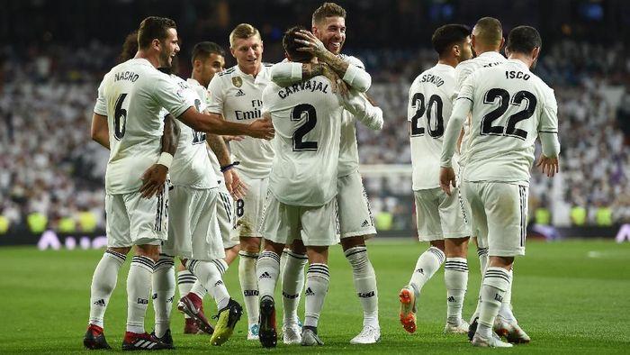 Real Madrid menang 2-0 atas Getafe di pekan pertama Liga Spanyol 2018/2019. (Foto: Denis Doyle/Getty Images)