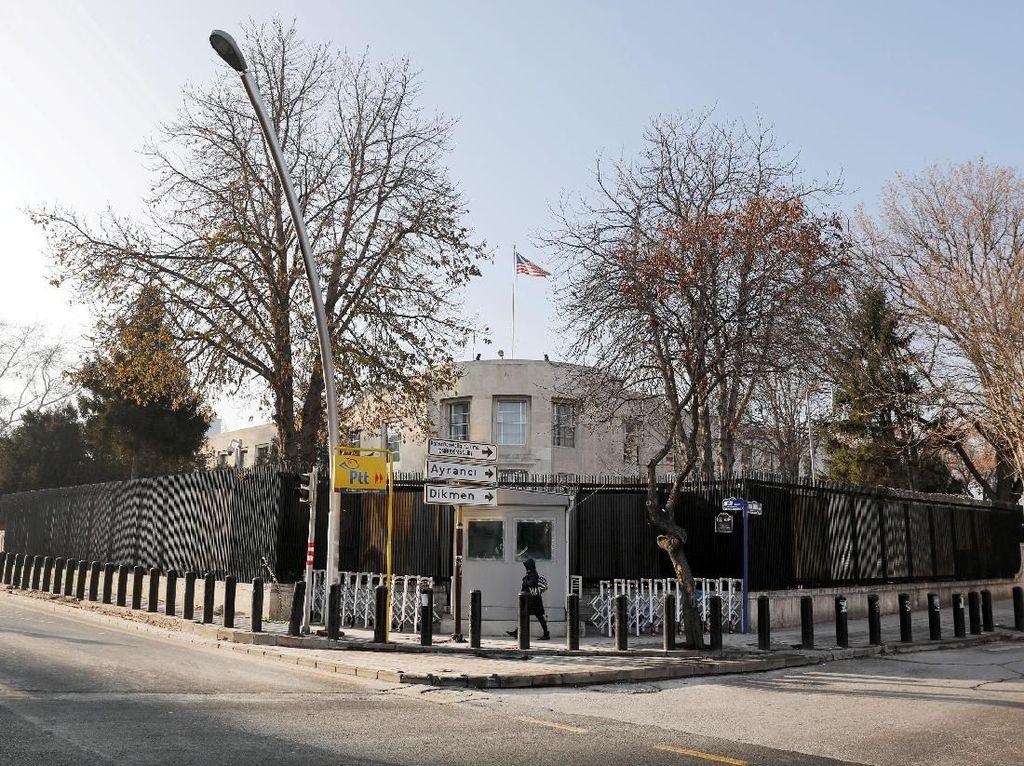 Kedubes AS di Turki Ditembaki, Pelakunya Berhasil Kabur