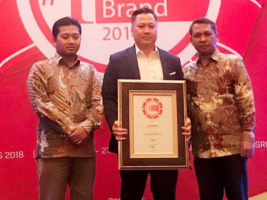 GT Radial Sabet Indonesia Original Brand Award 2018