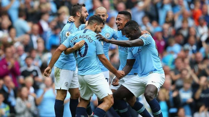 Manchester City memuncaki klasemen sementara Premier League, divisi teratas Liga Inggris (Foto: Alex Livesey/Getty Images)