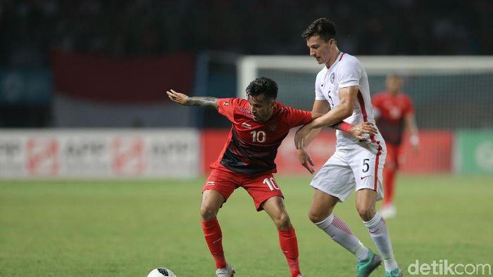 Indonesia menang 3-1 atas Hong Kong. (Foto: Agung Pambudhy/detikSport)