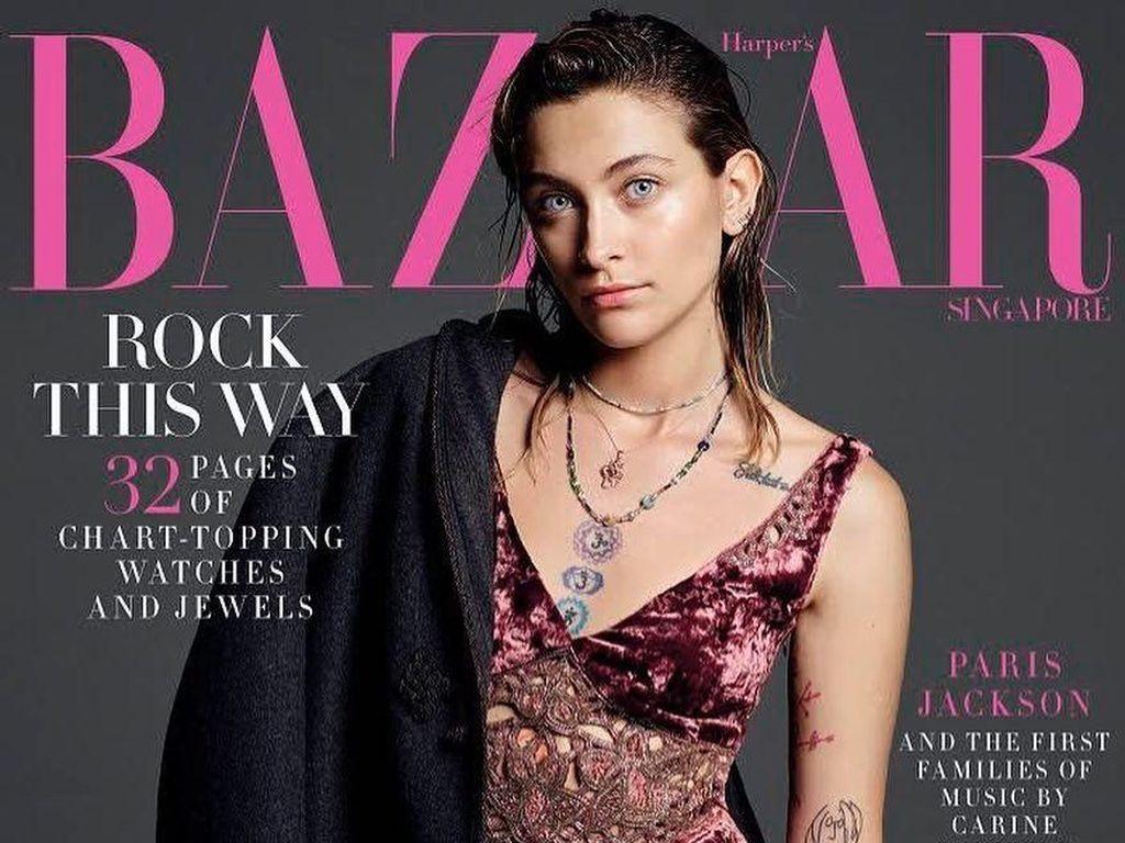 Jadi Model Harpers Bazaar Singapura, Paris Jackson Dituding Munafik