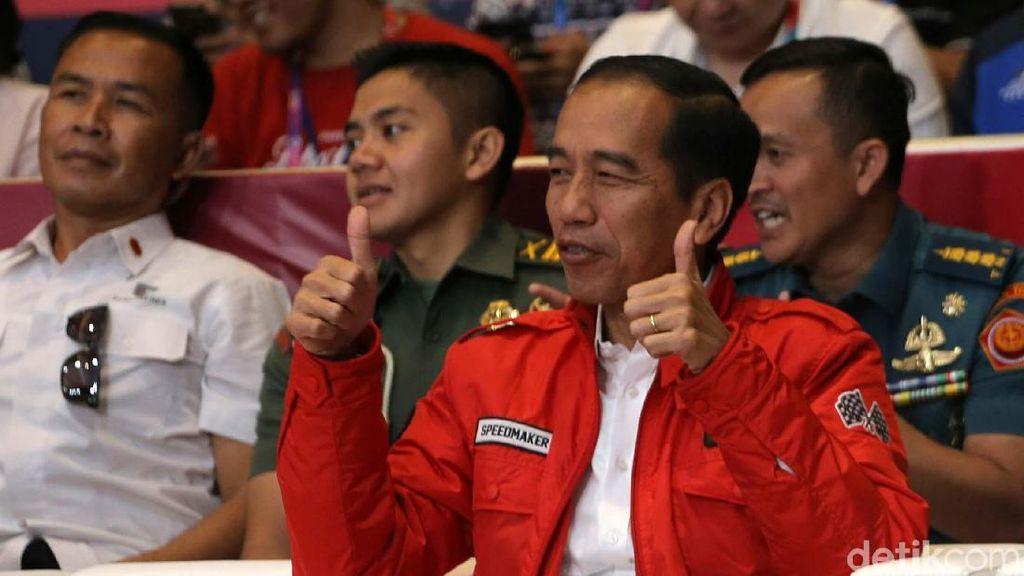 Dua Jempol Jokowi untuk Lindswell Kwok