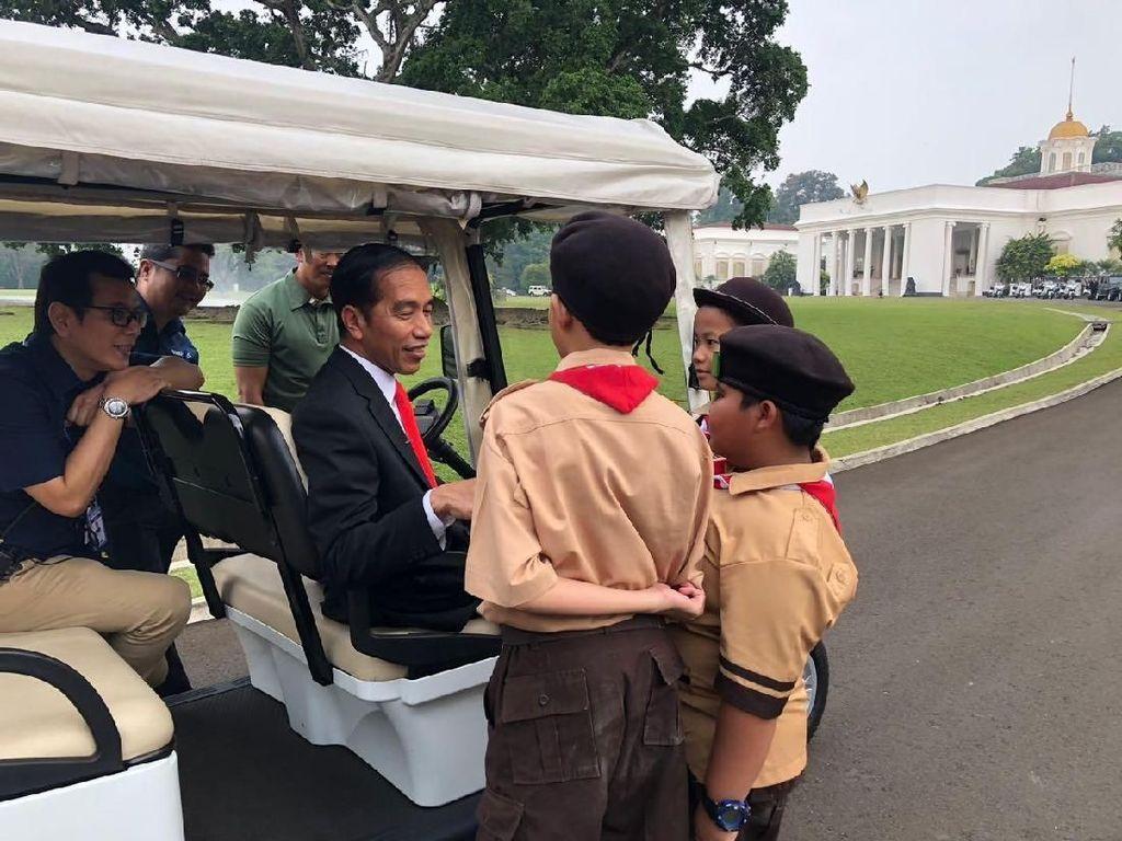 Cerita Anak Pramuka di Video Asian Games Saat Ngobrol dengan Jokowi