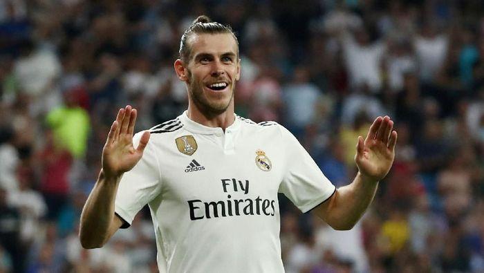 Gareth Bale belum terpikir meninggalkan Real Madrid. (Foto: Sergio Perez/Reuters)
