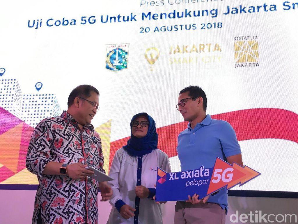 Uji Coba 5G di Kota Tua Tembus 11 Gbps