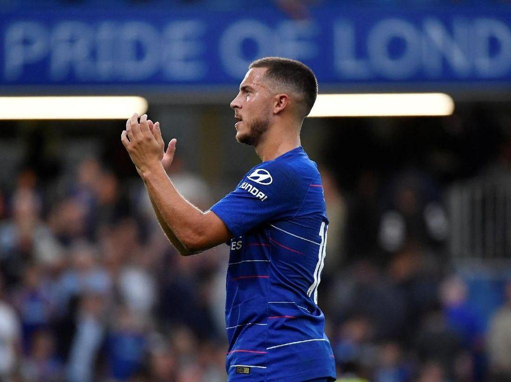 Hazard Pastikan Tetap di Chelsea Musim Ini, tapi...