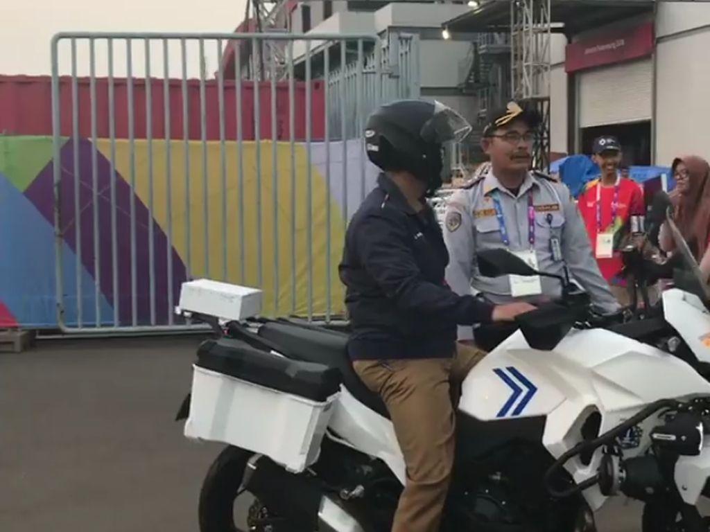 Sore-sore Anies Naik Moge Dishub Inspeksi Dukungan Asian Games