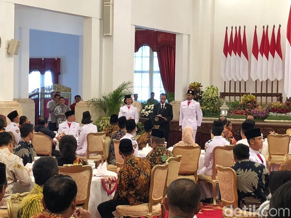Jokowi: Anak Muda Jangan Malas dan Senang yang Instan!