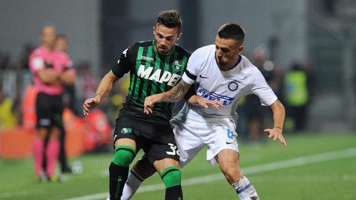 Inter Milan kalah lagi dari Sassuolo (Jennifer Lorenzini/REUTERS)