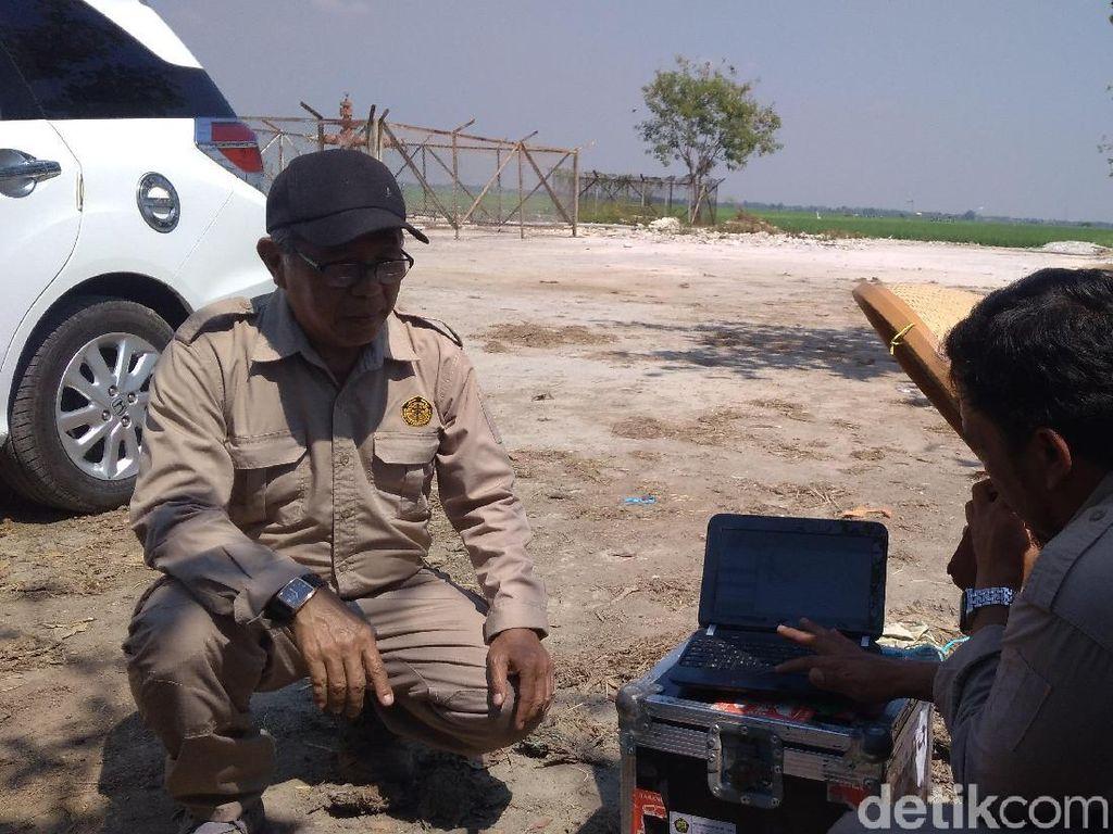 Badan Geologi Teliti Potensi Bencana Semburan Gas di Indramayu