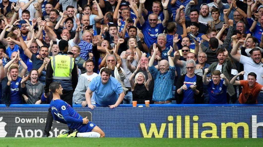 Morata Tak Pernah Berpikir Tinggalkan Chelsea, Berniat Bungkam Kritik
