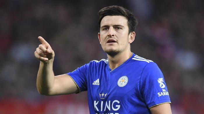 Leicester City menolak tawaran yang masuk untuk Harry Maguire (Foto: Michael Regan/Getty Images)