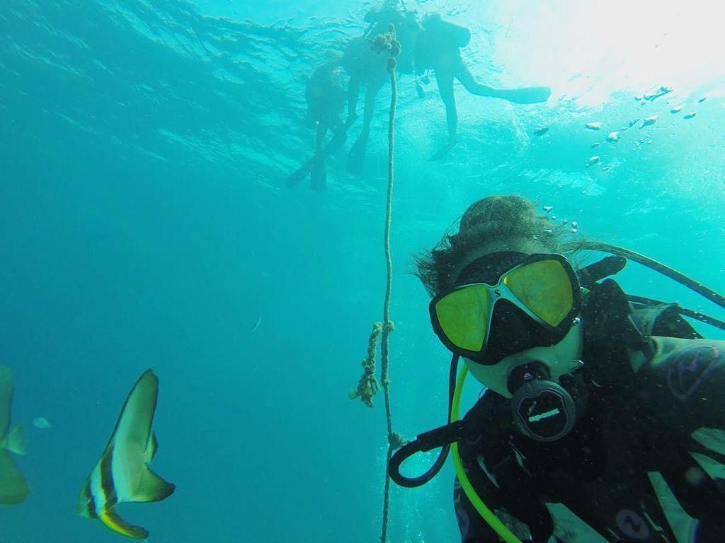 Foto: Sisi Lain Greysia Polii, Atlet Bulutangkis yang Ternyata Hobi Diving