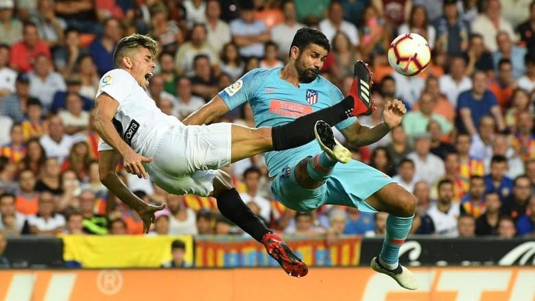 Hasil Liga Spanyol: Atletico Diimbangi Valencia