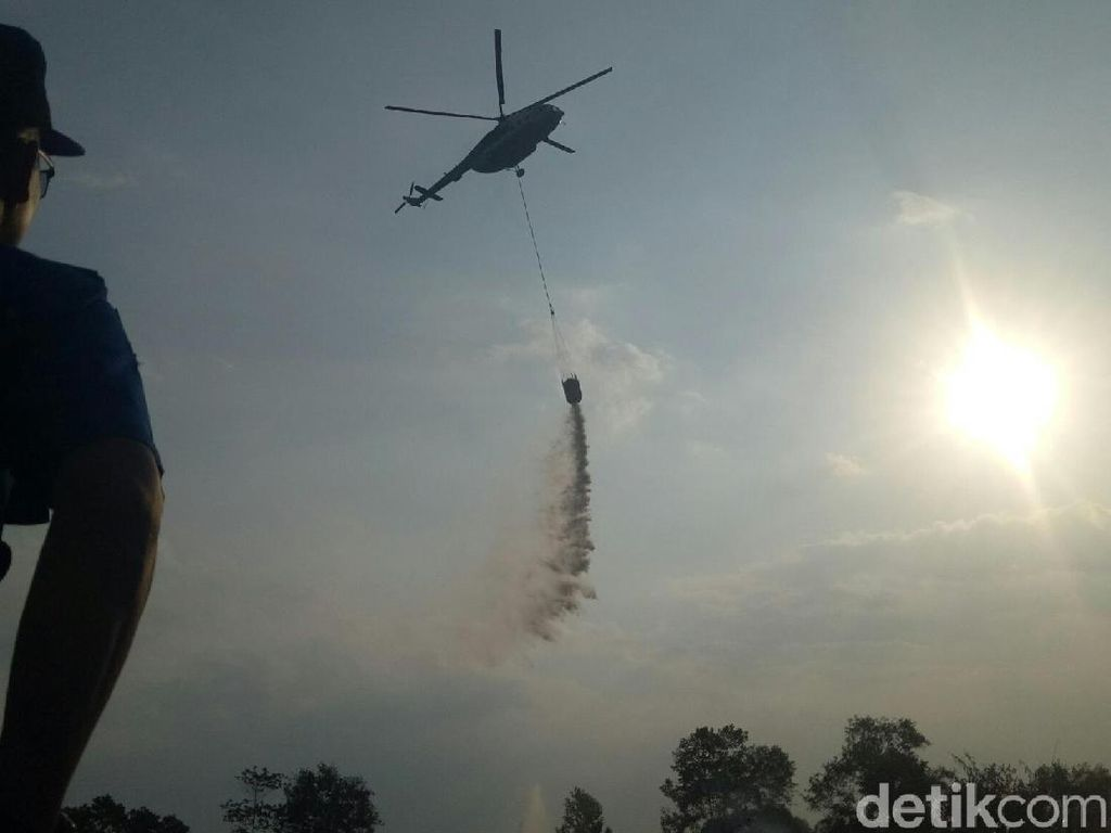 Gubernur Sumsel Cek Kebakaran Lahan Dekat Wisma Atlet Jakabaring