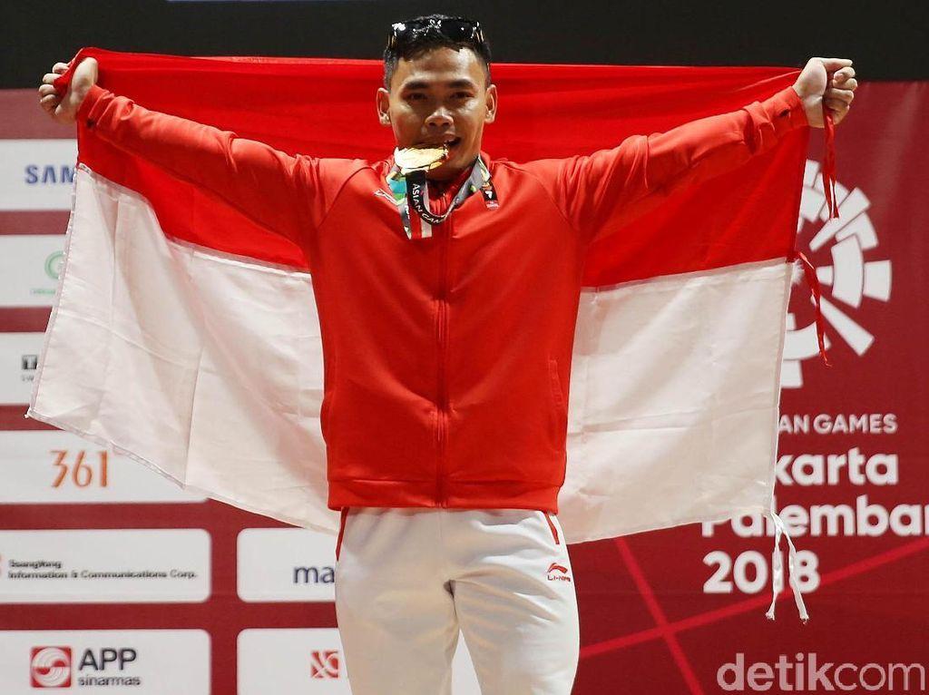 Atlet Peraih Medali Asian Games 2018 Juga Ditawari Masuk TNI dan Polri