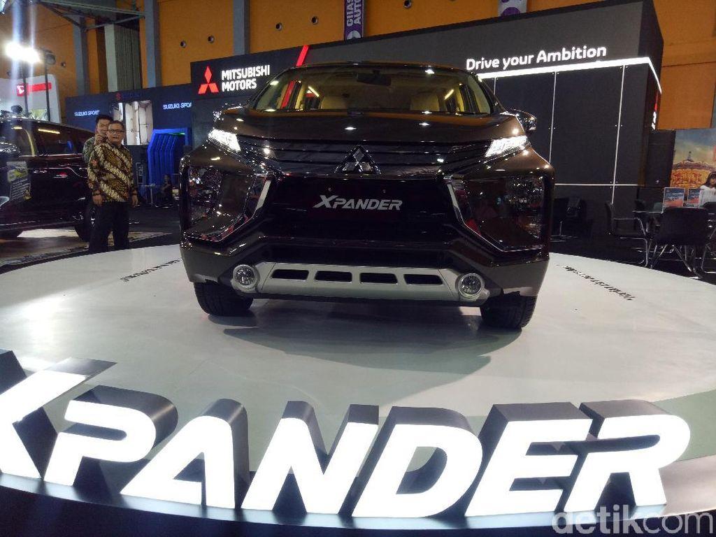 Mitsubishi Kenalkan Wajah Baru Xpander ke Publik Makassar