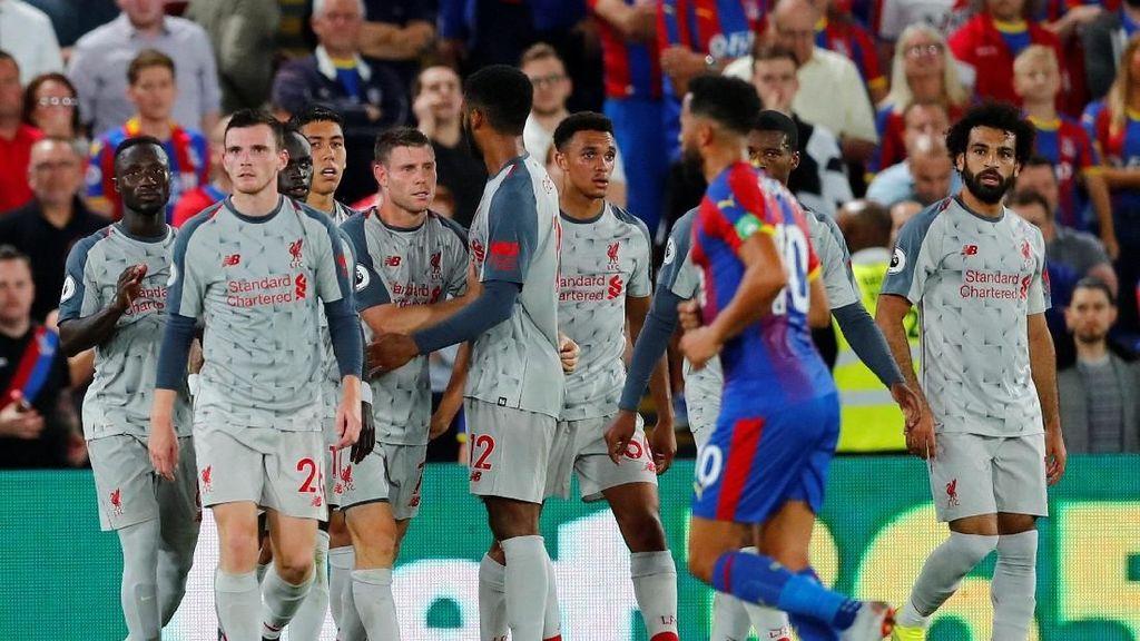 Hasil Liga Inggris: Liverpool Bekuk Crystal Palace 2-0