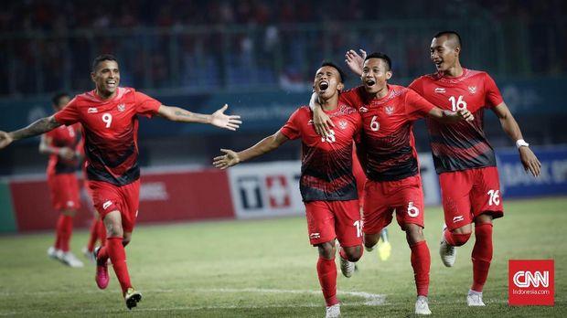 Evan Dimas gembira dengan performa Timnas Indonesia U-23.