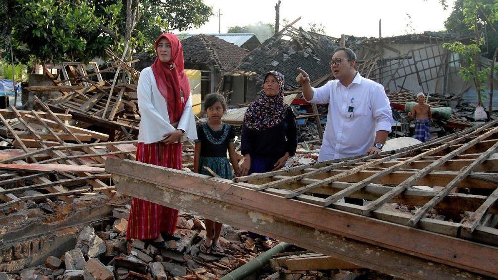 Bantuan Gempa Lombok Mandiri Syariah