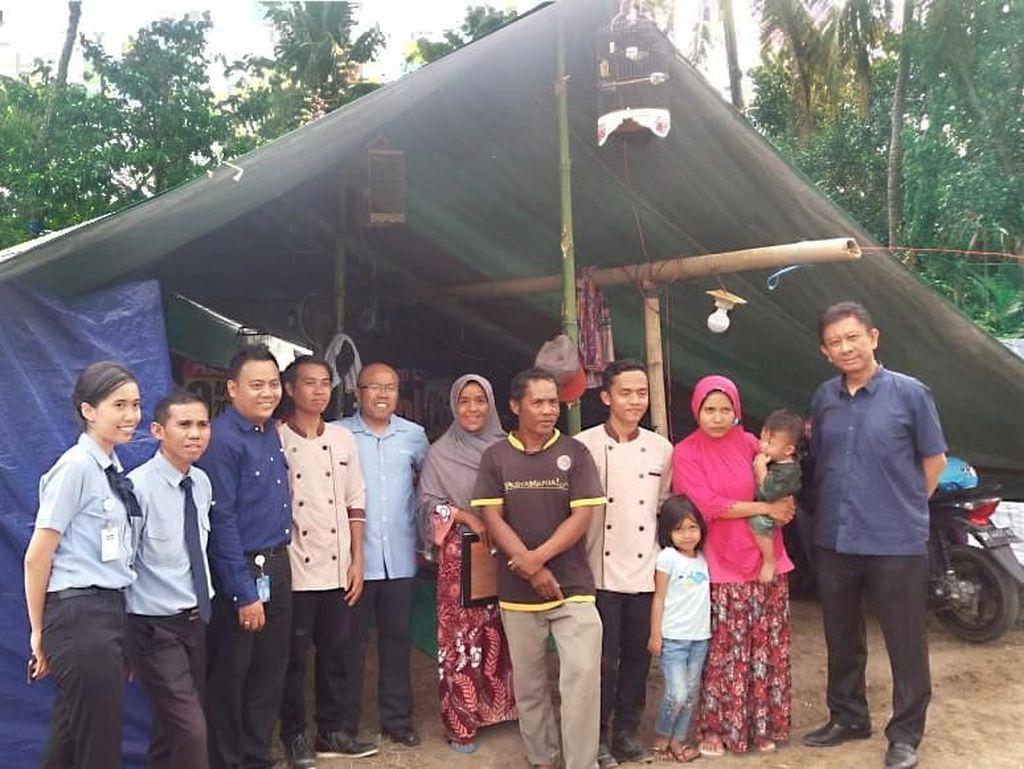 Beri Bantuan Kemanusiaan, CEO Transmart Turun Langsung ke Lombok