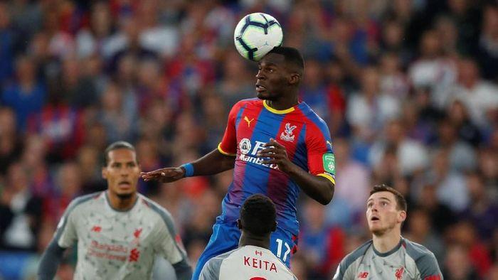 Virgil Van Dijk di laga Liverpool melawa Crystal Palace. (Foto: John Sibley/Reuters)