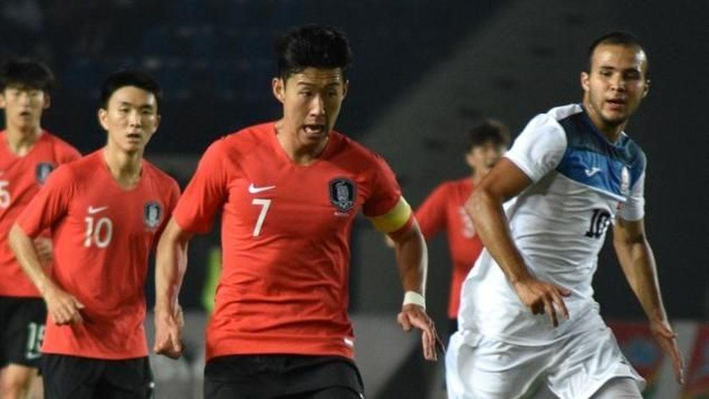 Optimisme Son Heung-min Raih Medali Emas Asian Games 2018