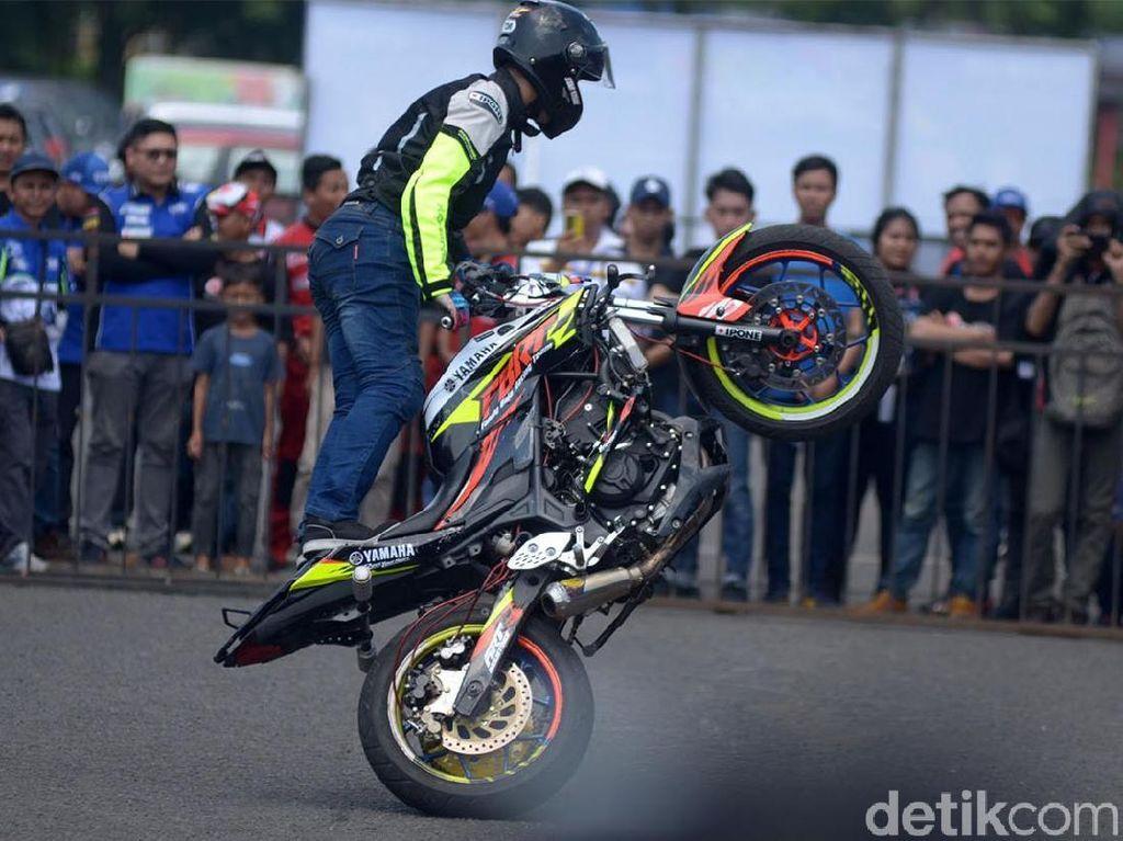 Freestyler Indonesia Nggak Kalah dengan Stuntman Jokowi