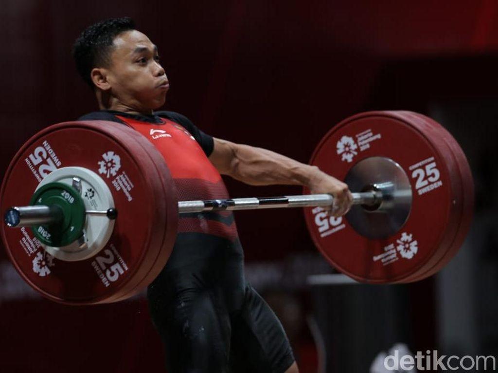 Bukan Medali, Ini Target Eko di Kejuaraan Dunia Angkat Besi 2019