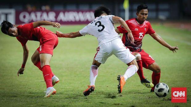 Timnas Indonesia U-23 sempat kesulitan menghadapi Hong Kong di babak pertama.