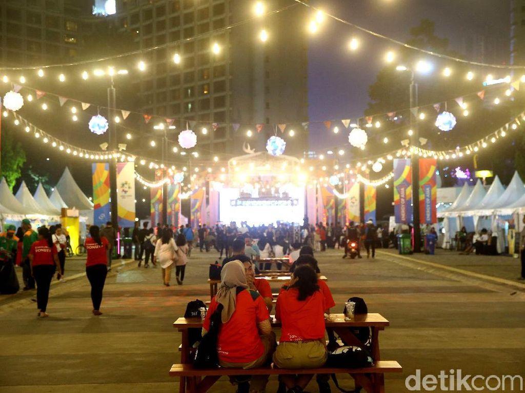 Area Asian Fest di GBK Semarakkan Asian Games 2018