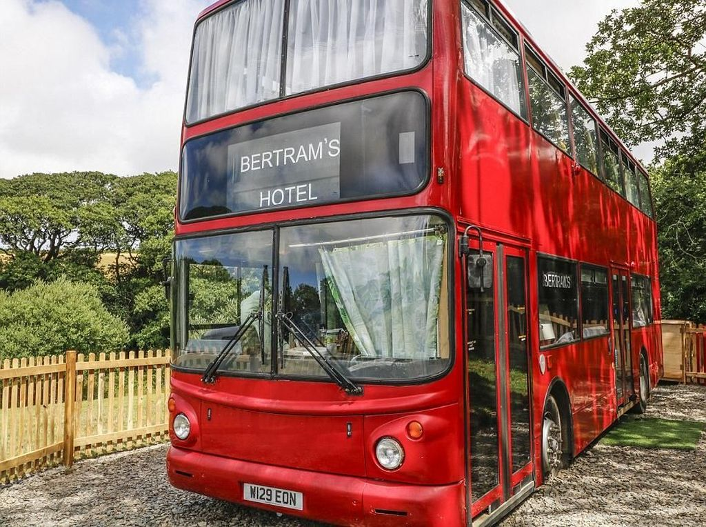Foto: Sleeper Bus Ajaib ala Film Harry Potter